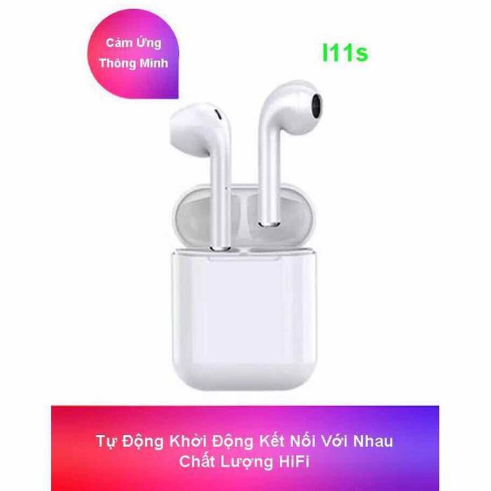 Tai Nghe i11 TWS V5.0 Cảm Biến Vân Tay