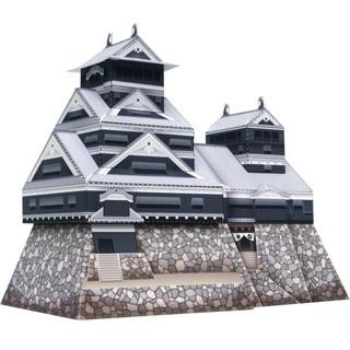 Mô hình Lâu đài Kumamoto ở Nhật, phiên bản mini