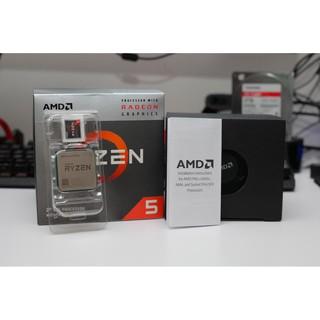 CPU AMD RYZEN 5 3400G BOX CHÍNH HÃNG thumbnail