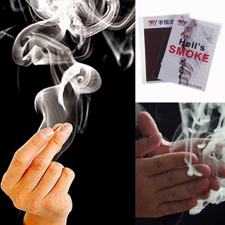 Cool Close-Up Magic Trick Finger's Smoke Hell's Smoke Stage Stuffs Fantasy Props H29