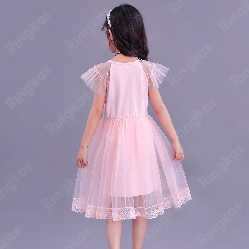 Váy bé gái đầm xòe công chúa đầm xòe dự tiệc đầm xòe dự tiệc Váy Công Chúa Cho Bé váy bé gái mùa hè Đầm Thời Trang Cho Bé Gái Từ 2-10 Tuổi