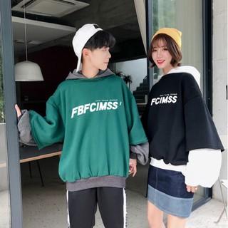 [Mã WARN30 hoàn 15% xu đơn 150k] Áo hoodie thời trang form rộng Unisex nam nữ chất nỉ FBF bigsize oversize -phuishop