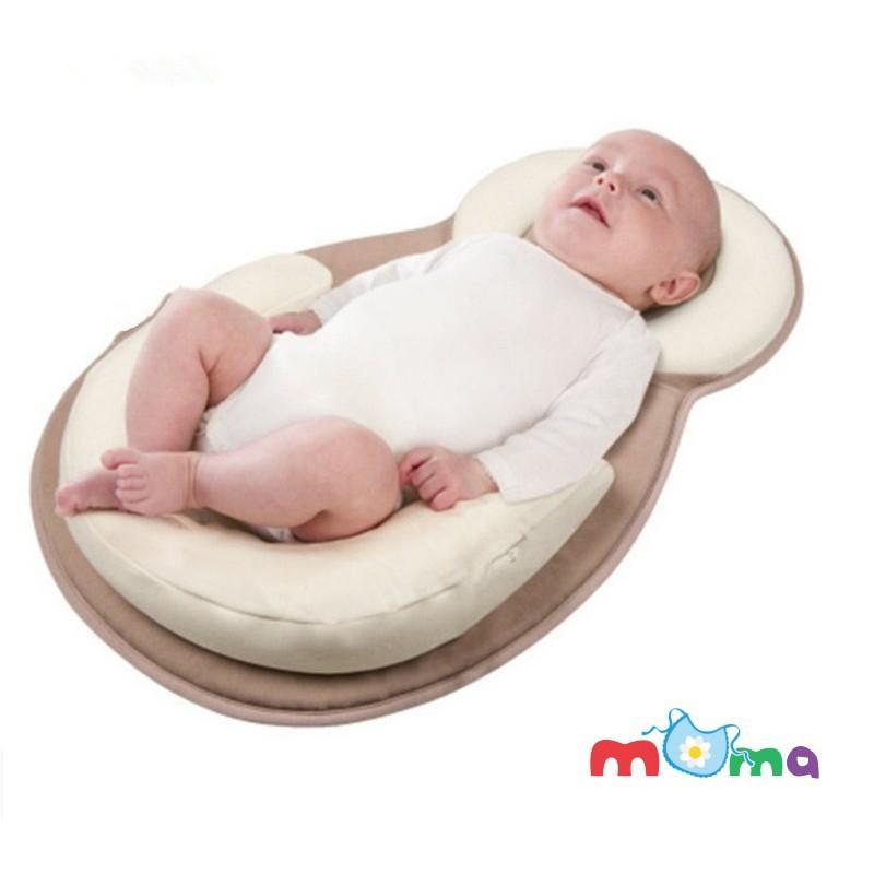 Đệm lót bé nằm JJOVE, nôi nệm nằm chống trào ngược sữa, chống trớ sữa, định vị đầu cho bé, trẻ sơ sinh và trẻ nhỏ_