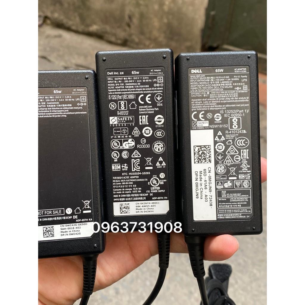 Adapter nguồn cho máy Case PC mini dell 19.5V-3.34A bảo hành 12 tháng