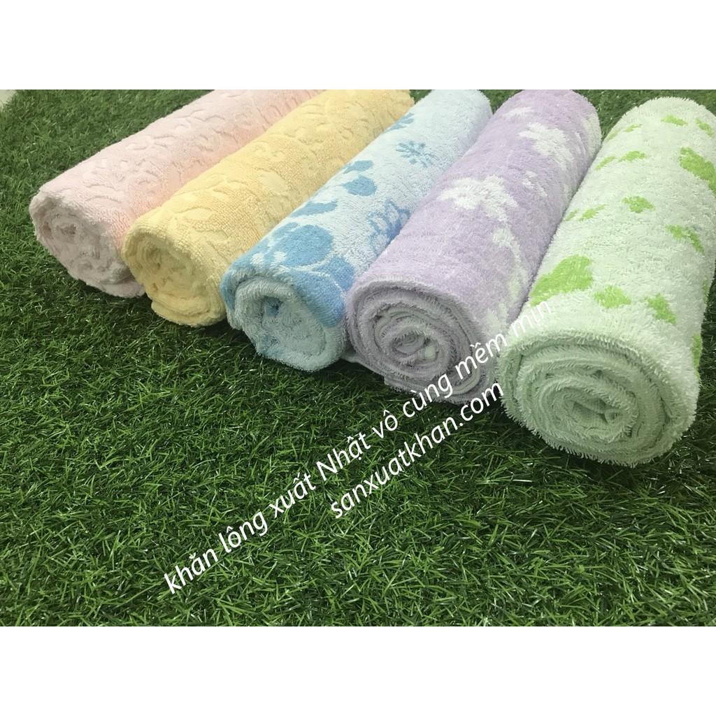 RẺ VÔ ĐỊCH Combo 5 khăn tắm xuất Nhật dành cho cả gia đình
