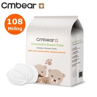 [Mã MKBCSALE1 giảm 8% đơn 250K] Miếng lót thấm sữa CMBEAR 108 miếng