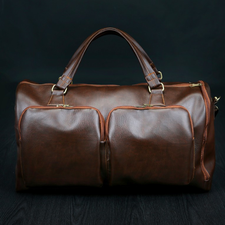 [Free ship] Túi xách da du lịch cỡ lớn HANAMA N2 - có túi để giày riêng