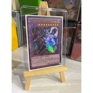 Lá bài thẻ bài Yugioh Contrast HERO Chaos – Ultra Rare – Tặng bọc bài nhựa bảo quản