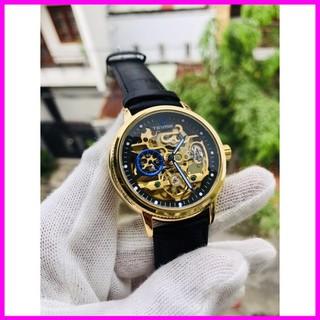 [ Hàng Xịn ] Đồng hồ nam tevise chính hãng automatic dây da [ Đồng Hồ Nam Cao Cấp]