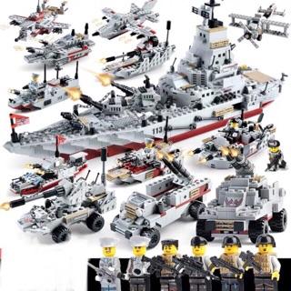 DC77D0221 BỘ ĐỒ CHƠI XẾP HÌNH LEGO CHIẾN HẠM CHIẾN THUYỀN PHÁT TRIỂN TƯ DUY CHO TRẺ YÊU THÍCH MÔ HÌNH