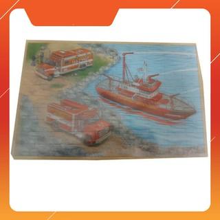 [SALE SẬP SÀN] Bảng ghép gỗ hoạt hình loại to (29cmx40 cm) giao màu ngẫu nhiên | HÀNG MỚI