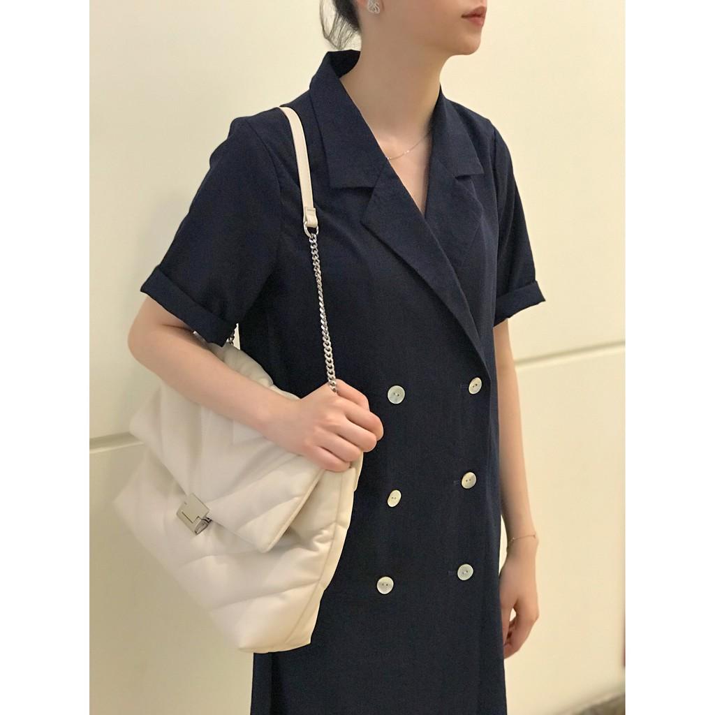 Váy vest nữ dáng suông, váy vest nữ thời trang công sở Mã VH04 - Freeship