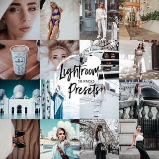 10 gói Preset Lightroom cho điện thoại – 61 Presets Lightroom / Mobile Lightroom Presets – LR9