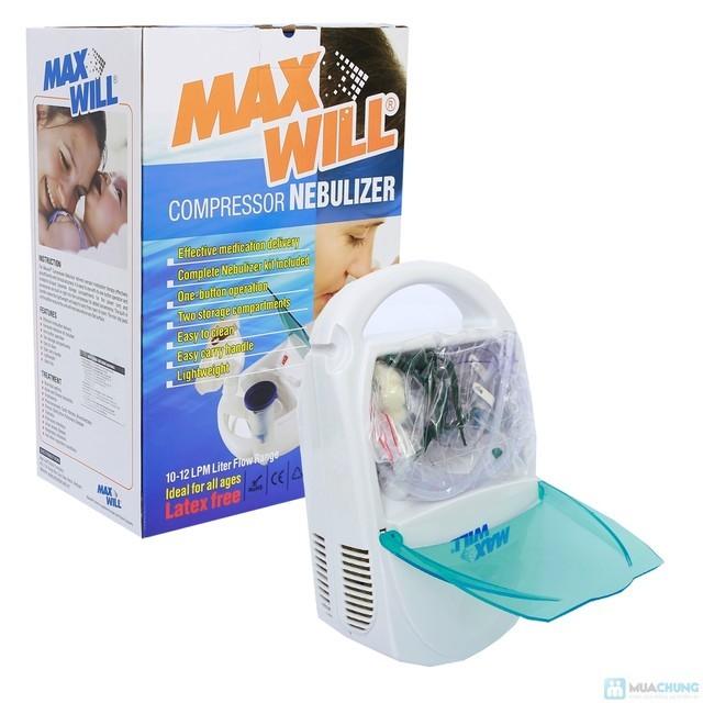 Máy xông khí dung nén khí Maxwill AM0901NEB