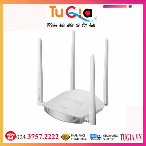 [Mã SKAMPUSHA7 giảm 8% đơn 250k]Bộ Phát WiFi Router TOTOLINK 600Mbps N600R- Hàng chính hãng