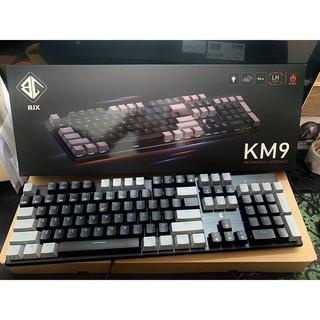 BÀN PHÍM CƠ BJX KM9 New Full Size Blue và RED Switch thumbnail