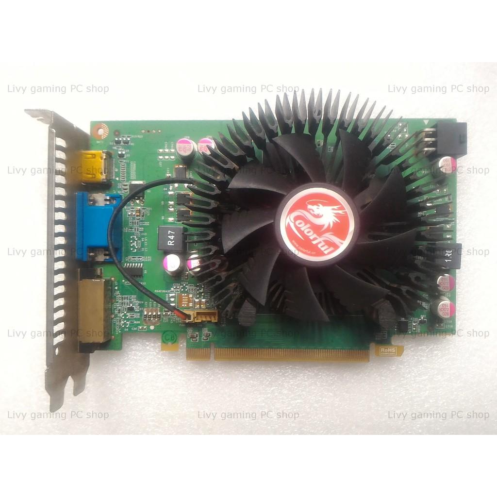 Card màn hình Colorful GeForce GT 630 Gold Edition 1GB GDDR5