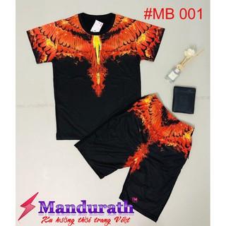 Bộ hè nam – Bộ thời trang nam – Bộ quần áo hè nam MANDURATH Bulong cực cool ngầu