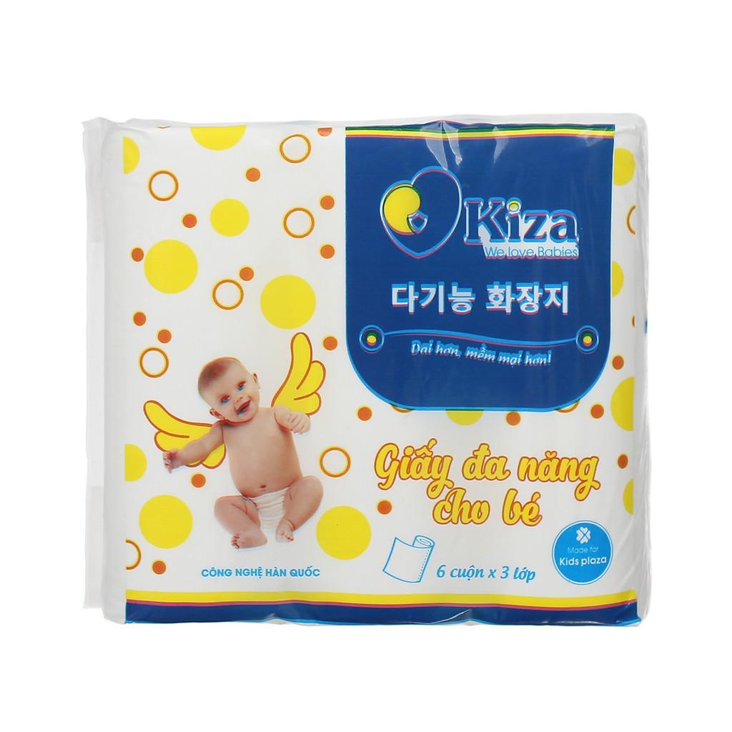Giấy đa năng cho bé Kiza 100% giấy nhập khẩu