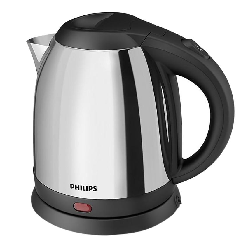 Bình đun Philips HD9303 1.2L (Xám bạc) - Hàng nhập khẩu
