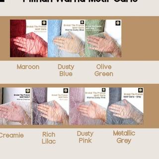 Cuộn Vải Brocade 1 / 2m Họa Tiết Kẻ Sọc Màu Xanh Lá