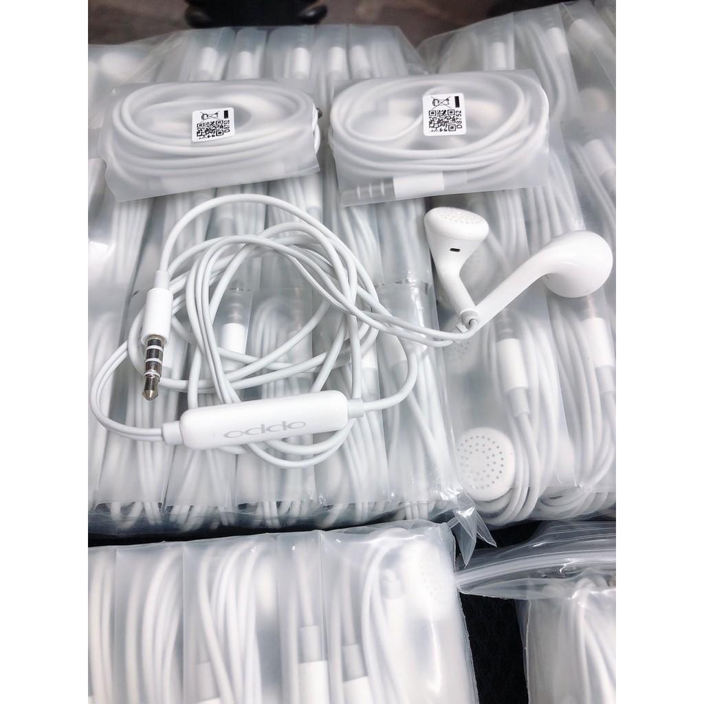 Tai nghe Oppo, Iphone R11, tích hợp mic đàm thoại, cổng 3.5mm chân tròn - Hàng siêu bền - Việt Linh Store