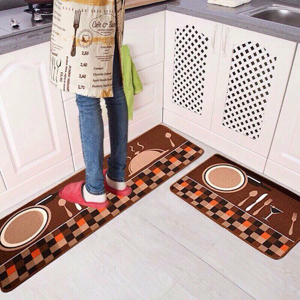 combo 2 bộ thảm trải bếp cực rẻ