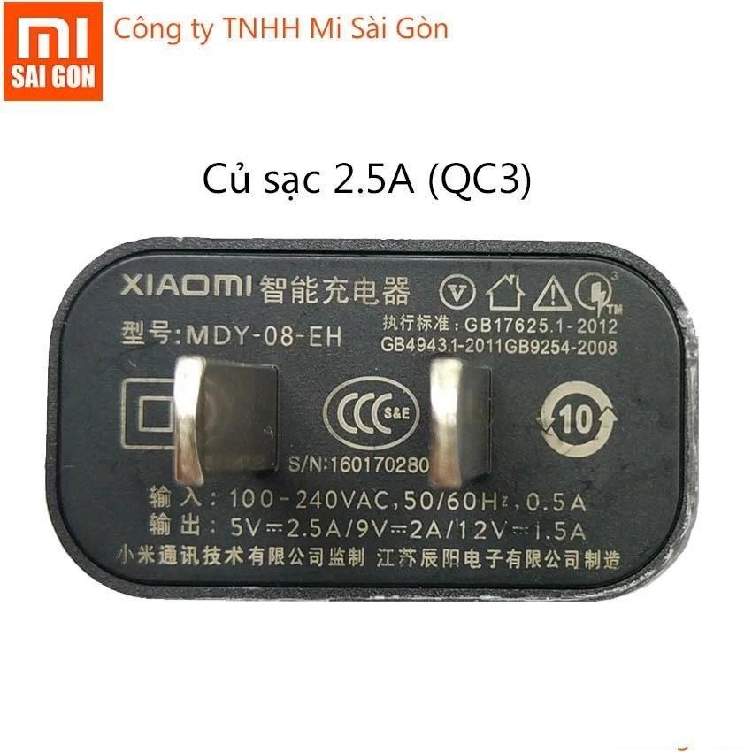 Củ sạc nhanh 2.5A dùng cho Xiaomi Quick Charge 3.0 - MI 5 (ĐEN) - 3490970 , 979442652 , 322_979442652 , 108000 , Cu-sac-nhanh-2.5A-dung-cho-Xiaomi-Quick-Charge-3.0-MI-5-DEN-322_979442652 , shopee.vn , Củ sạc nhanh 2.5A dùng cho Xiaomi Quick Charge 3.0 - MI 5 (ĐEN)