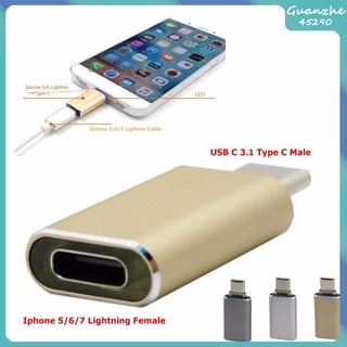 Hot Sale 【GZ】 Type-C to USB 3.1 Male To Female Adapter Charging Data Transmission Connector for Smart Phone