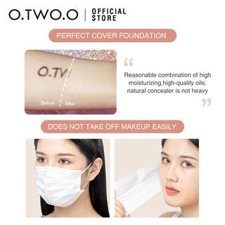 Hình ảnh Bộ mỹ phẩm trang điểm O.TWO.O gồm kem lót + kem BB + che khuyết điểm + mút trang điểm 180g-5