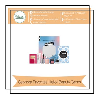 Bộ mỹ phẩm Sephora Favorites Hello! Beauty Gems