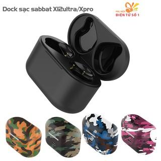 Dock sạc tai nghe sabbat X12ultra - Hộp sạc sabbat X12pro full màu