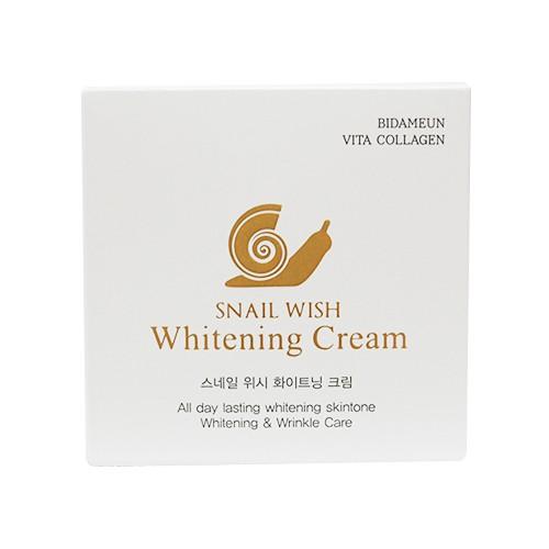 KEM DƯỠNG TRẮNG DA SNAIL WISH WHITENING CREAM 50g