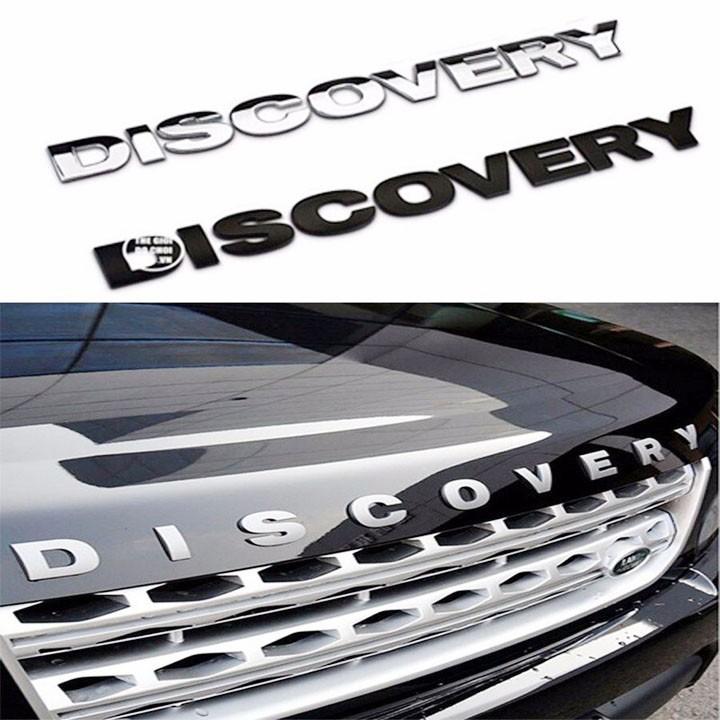 Chữ Nổi DISCOVERY 3D Trang Trí Xe Ô TÔ loại 4.1cm