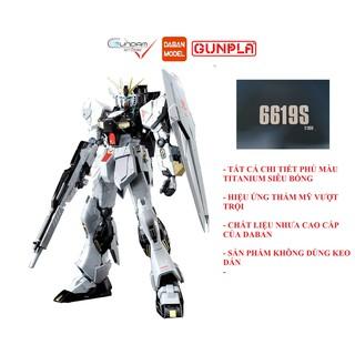 [Mã TOYJAN hoàn 20K xu đơn 50K] Daban 6619S Mô Hình Gundam MG Nu Ver Ka Titanium Finish 1 100 Đồ Chơi Lắp Ráp Anime thumbnail