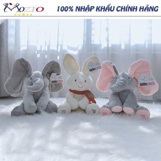Đồ chơi trẻ em 🌞 Voi thỏ ú òa PekaBOO biết hát,vẫy tai cực yêu cho bé Mozio store