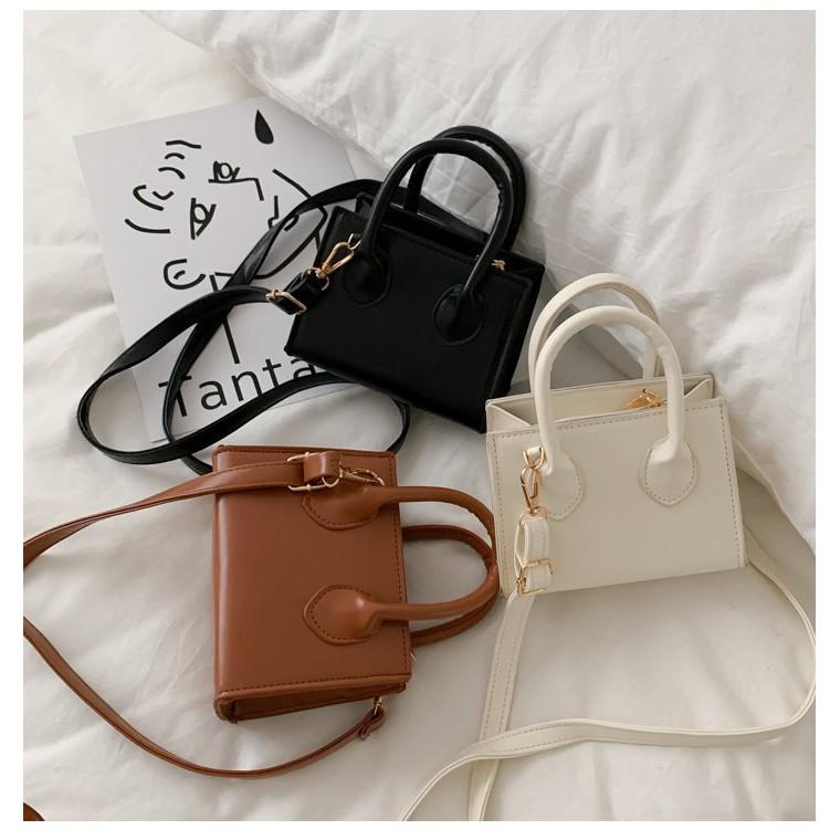 Túi xách nữ 💖 𝑭𝑹𝑬𝑬𝑺𝑯𝑰𝑷 💖 Túi đeo chéo mini hàng quảng châu siêu hot TD09