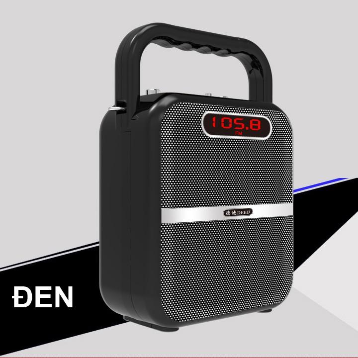 Loa bluetooth xách tay hát karaoke cao cấp DEED D-B98 40W (Đen) + Tặng kèm micro không dây - 2571720 , 696594529 , 322_696594529 , 858000 , Loa-bluetooth-xach-tay-hat-karaoke-cao-cap-DEED-D-B98-40W-Den-Tang-kem-micro-khong-day-322_696594529 , shopee.vn , Loa bluetooth xách tay hát karaoke cao cấp DEED D-B98 40W (Đen) + Tặng kèm micro không d
