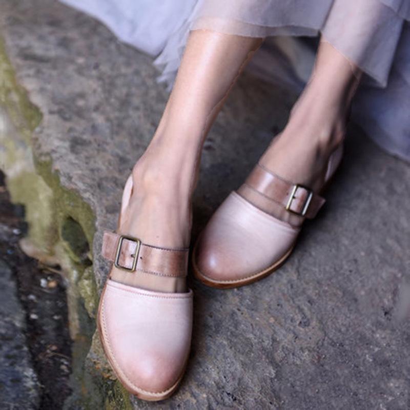 Giày búp bê phối nơ xinh xắn dành cho nữ