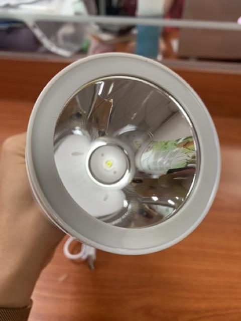 Đèn pin sạc led COMET CRT455 11.5W kiêm đèn sạc led, có điều chỉnh độ sáng, chế độ SOS