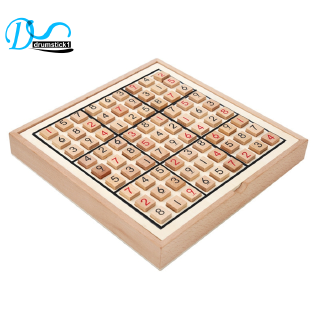 Ready Sudoku Chess Digits Games 1 to 9 Intelligent Fancy Wood Toys High Quality [DRV]