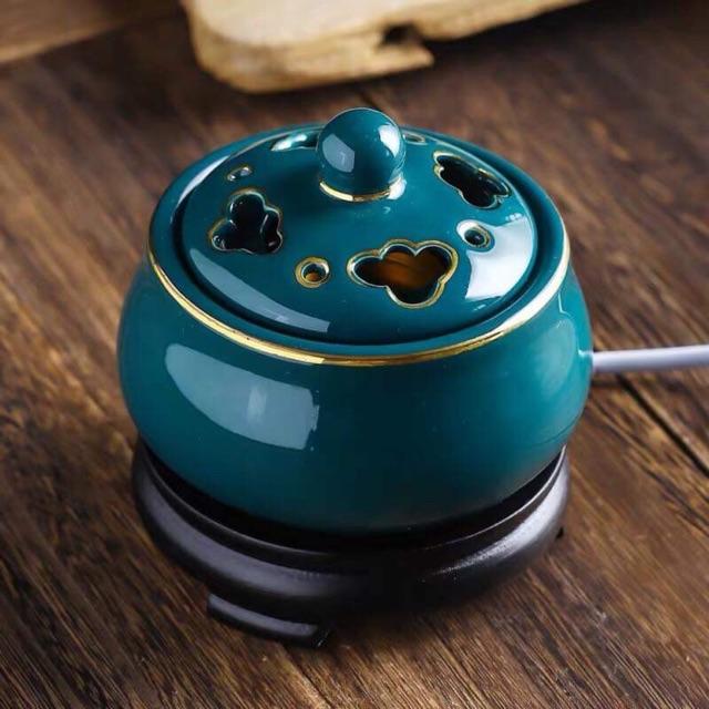 Lò xông trầm hương bằng điện cao cấp