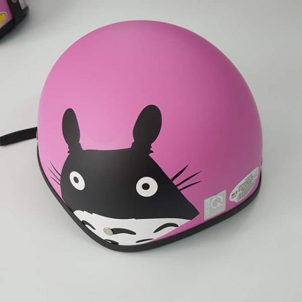 (Trợ giá)  Mũ bảo hiểm Toro màu hồng + kí