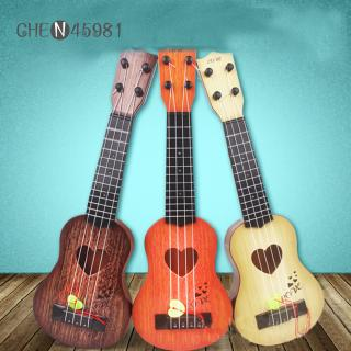 4 Strings Children Simulation Playable Ukulele Guitar Educational Music Instruments Toy Gifts for