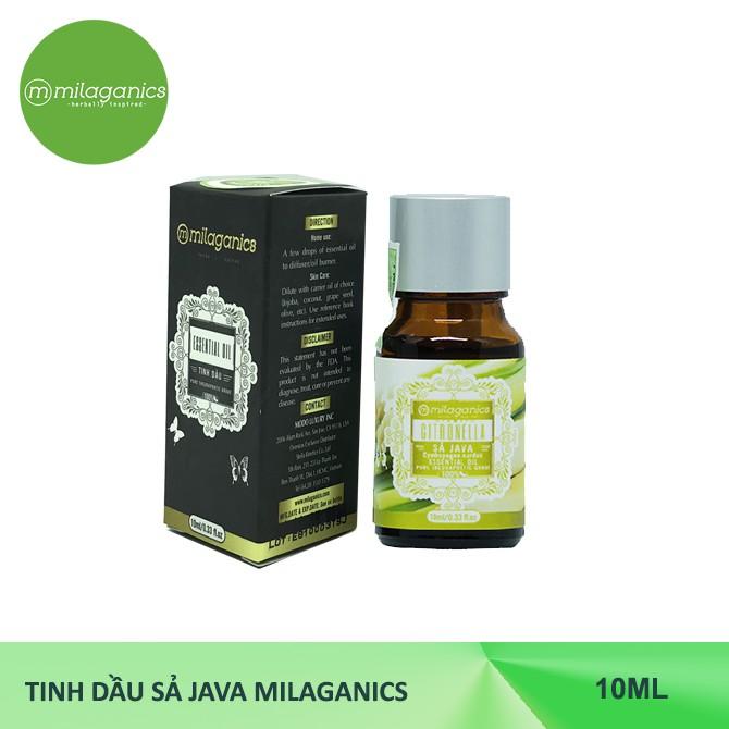 [FMMILATET10 GIẢM 10K TỪ 99K] Tinh dầu Sả Java MILAGANICS 10ml