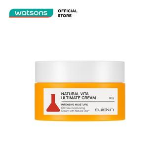 Kem Dưỡng Ẩm Tối Ưu Suiskin Natural Vita Ultimate Cream 80g thumbnail