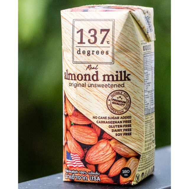 Sữa hạt nguyên chất 137 Degrees (KETO-LOWCARB)
