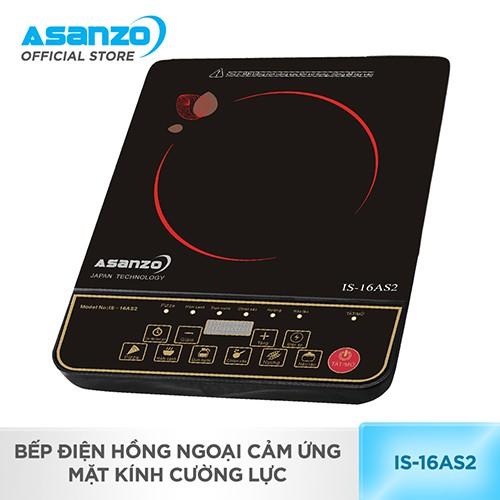 [Nhập ASANZOT7 giảm 10%] Bếp điện hồng ngoại mặt kính cường lực Asanzo IS-16AS2 - 3581871 , 979753327 , 322_979753327 , 778000 , Nhap-ASANZOT7-giam-10Phan-Tram-Bep-dien-hong-ngoai-mat-kinh-cuong-luc-Asanzo-IS-16AS2-322_979753327 , shopee.vn , [Nhập ASANZOT7 giảm 10%] Bếp điện hồng ngoại mặt kính cường lực Asanzo IS-16AS2