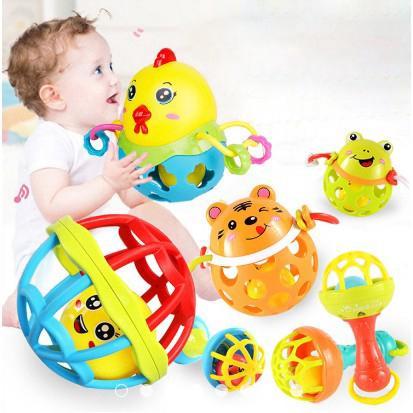 Bé Nhạc Rattle Toddler Kid Phim Hoạt Hình Teether Stick Học Tập Sớm Đồ Chơi 3199
