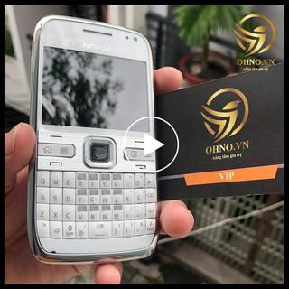 Điện Thoại NOKIA E72 Wifi Main Zin Chính Hãng OHNO BH 24 Tháng Phụ Kiện PIN + SẠC thumbnail